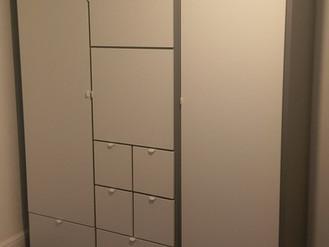 The Visthus Wardrobe from Ikea - Assembled in Sketty, Swansea by Flat Pack Swansea