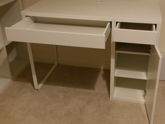 Ikea Micke Desk, Kallax Storage & Hemnes Chest of Drawers - Assembled in Gorseinon, Swansea