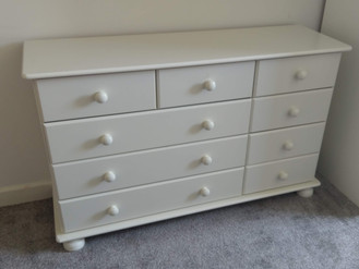THE RICHMOND 9 DRAWER FROM THE RANGE - ASSEMBLED IN NEATH BY FLAT PACK SWANSEA