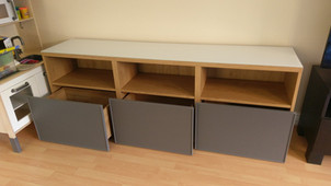 BESTA RANGE FROM IKEA - ASSEMBLED IN SWANSEA