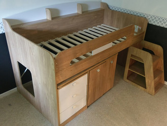 Ultimate Storage Beds for your Children - Bourne Cabin and Argos Midsleeper - Assembled by Flat Pack