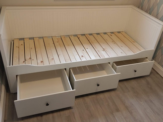 ANOTHER DAY... ANOTHER DAY-BED FROM IKEA - ASSEMBLED BY FLAT PACK SWANSEA