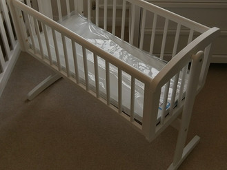 Mothercare Bayswater Nursery Furniture including Cot-Bed, Crib and Changing Unit - Assembled in Ciml