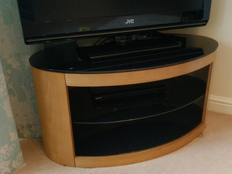 The Buckingham TV Stand from Currys - Assembled in Morriston, Swansea
