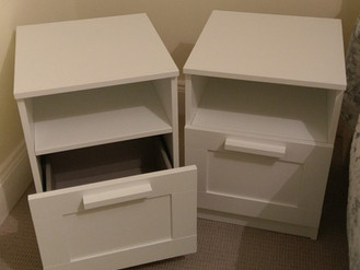 Fraser Bedside Tables from John Lewis - Assembled in Mumbles, Swansea