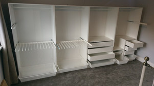 8 Door Fully Customised Ikea Pax Wardrobe - Assembled in Gorseinon by Flat Pack Swansea