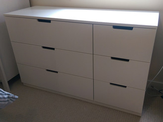 Ikea Nordli 6-Drawer Chest - Langland Bay, Mumbles - Assembled by Flat Pack Swansea