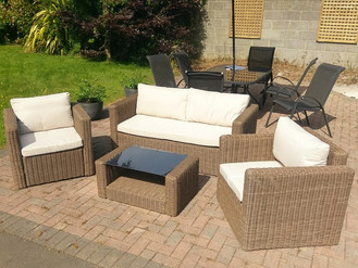 Rattan Garden Furniture - B&Q, Argos, Amazon & Groupon - Assembly by Flat Pack Swansea