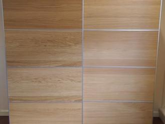 Ikea Ilseng Sliding Door System with Pax - Noddfa Community Centre, Glyncorrwg