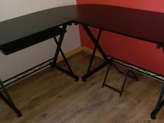 Songmics Corner Desk from Amazon.co.uk - Assembled in Sandfields, Port Talbot