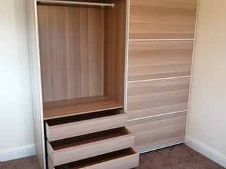 CHECK OUT THIS BEAUTIFUL PAX WARDROBE CREATION - ASSEMBLED BY FLAT PACK SWANSEA