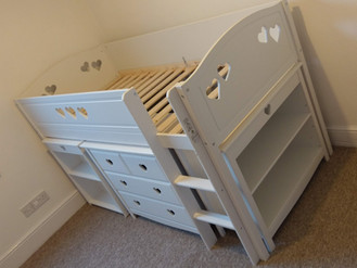 ARGOS MIA ULTIMATE MID SLEEPER - ASSEMBLED IN SWANSEA