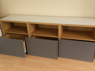 The Besta range from Ikea - TV Stand, Shelving, Storage - Assembled in Swansea