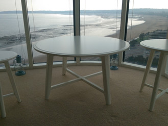 Wow! Flat-Pack with a view at Meridian Tower, Swansea.