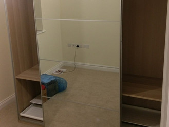 VIDEO: Quarter of Large Ikea Pax Wardrobes - Saron, Ammanford