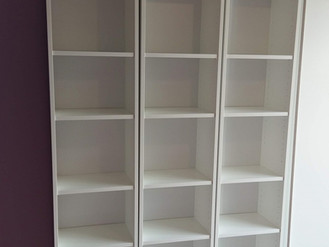 Big Billy Bookcases, Malm Desk and Trysil Wardrobe from Ikea - Assembled in Uplands by Flat Pack Swa