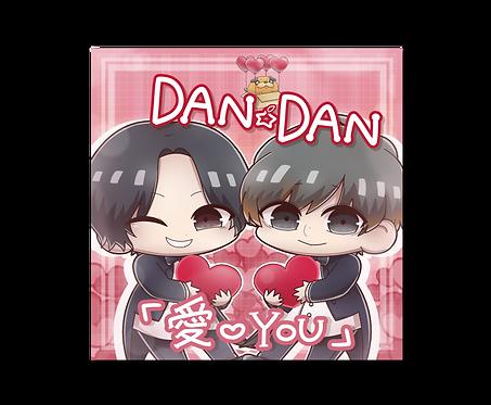 2nd アルバム DAN☆DAN 「愛♡YOU」