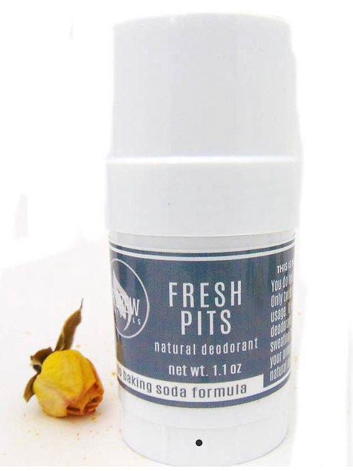 """FRESH PITS"" Natural Deodorant"