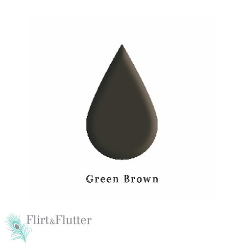 Microblading Color Corrector/  Green Brown