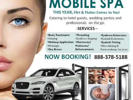 Now Offering Mobile Spa Services for the Atlanta Area. Get services in your hotel or home today.