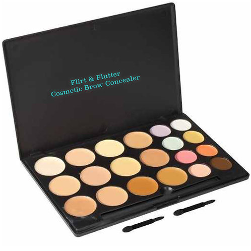 Cosmetic Brow Concealer Palette (20 Colors)