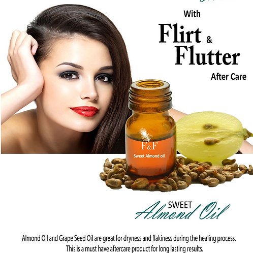 F&F Sweet Almond Oil For Permanent Makeup