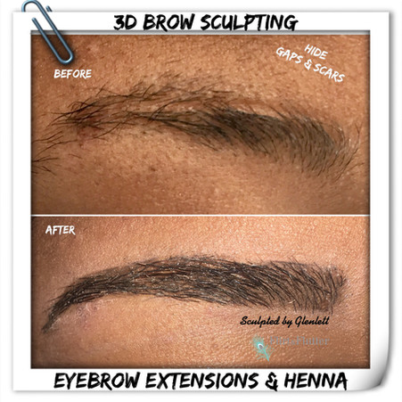 Want to cover up Gaps & Scars in your Ey
