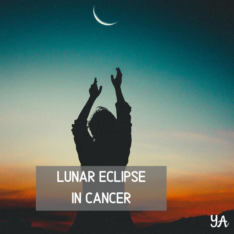 Full Moon Lunar Eclipse In Cancer
