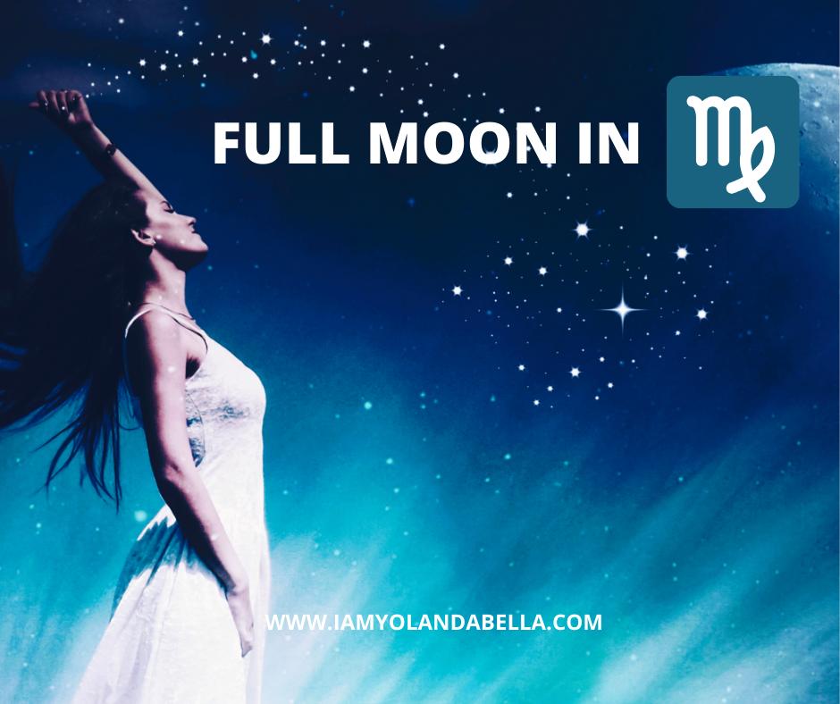 Full Moon in Virgo #zodiac #fullmoon