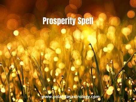 Prosperity Spell