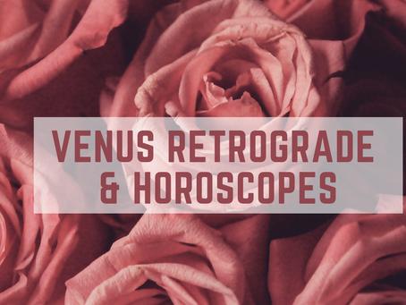Venus Retrograde & Horoscopes