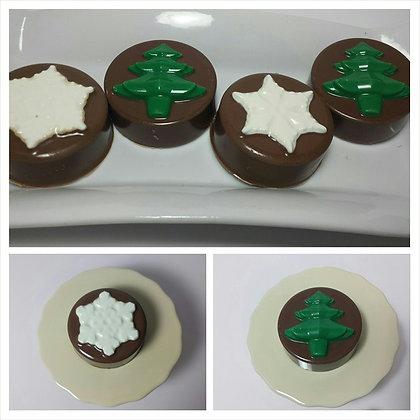 Christmas Chocolate Covered Oreo