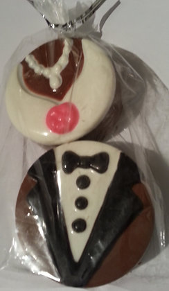 Wedding Favour - Chocolate Covered Oreo