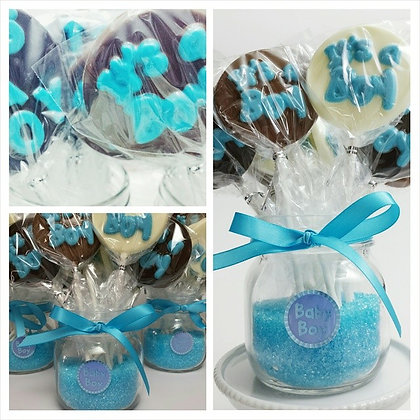 Baby Shower Chocolate Lollipop