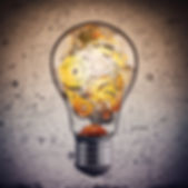 LIGHTBULB WITH GEARS INSIDE-FOR SYSTEMS-