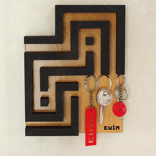 Porta-chave magnético Cuia