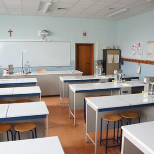 Le laboratoire de sciences