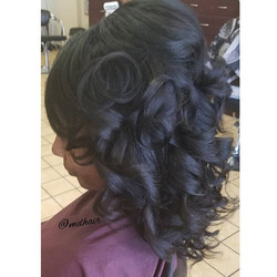 Go big or go home! MDHair Luxury sew-in�