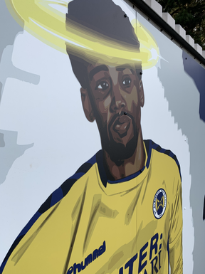 Shaun Jeffers Mural.