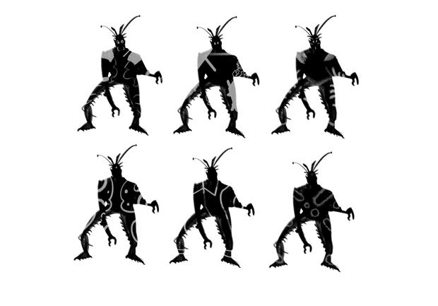 Experimentation of Creature Silhouette