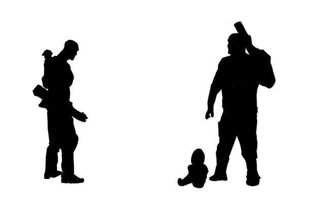Baby Sitter Silhouette's