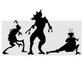 Refined Creature Silhouette's