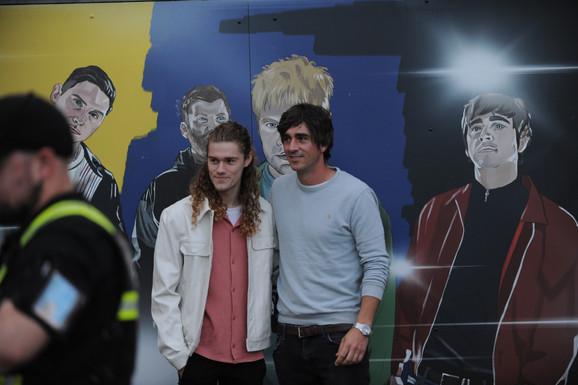 Myself & Chris Batten
