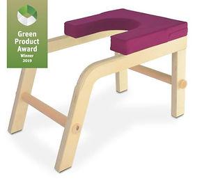 Yoga und Kopfstandhocker aus Holz nachha