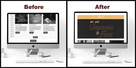 Identity Page Design for Metanoia