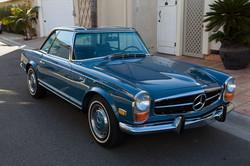Mercedes 280SL 38.586 miles