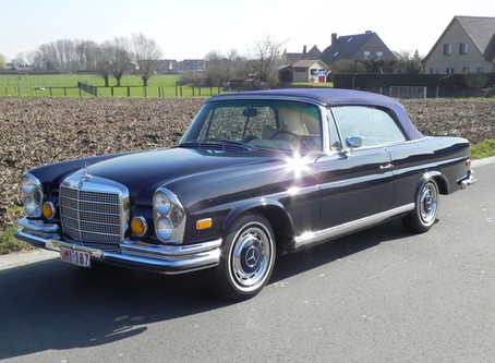 """The Matching, Immaculately Conserved, Ultra Low Mileage Mercedes """"Twins"""""""