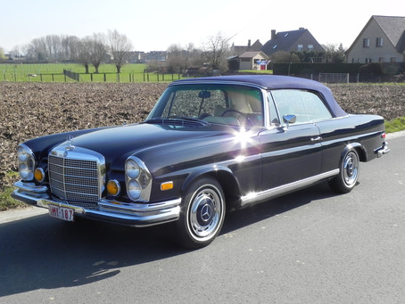 "The Matching, Immaculately Conserved, Ultra Low Mileage Mercedes ""Twins"""