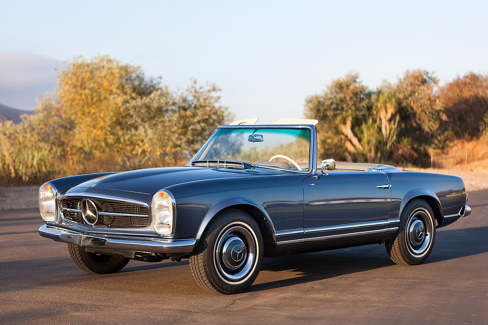 Mercedes 230SL - Ground Restoration