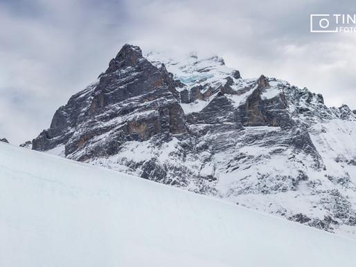 Halfpipe Grindelwald- First mit Gian